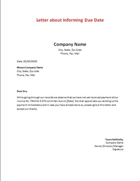 billing  statements sample letters word excel templates
