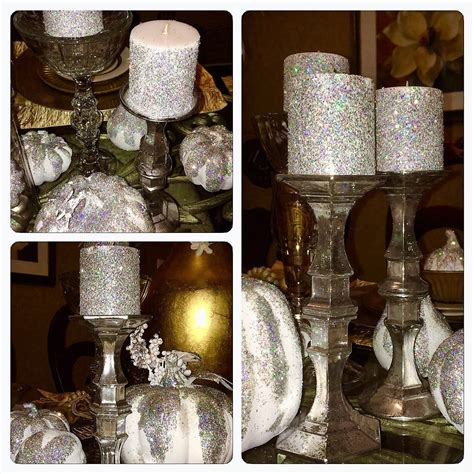 dollar tree diy faux mercury glass candlestick holders
