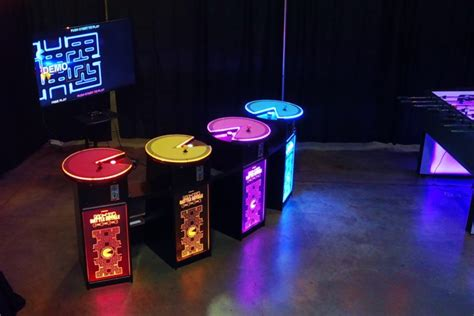 pac man battle royale  player arcade game rental