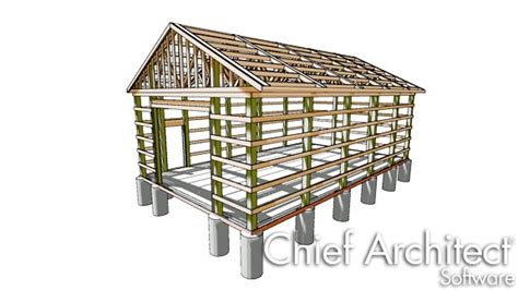 design for shelves designing a traditional pole barn structure