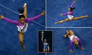 a gold medal worthy performance olympic gymnastics
