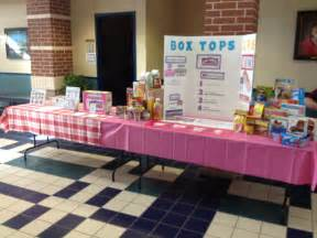 Back to School Box Tops for Education