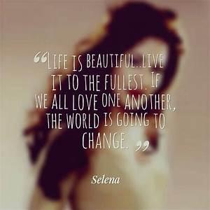 Quotes By Selena Quintanilla Perez. QuotesGram