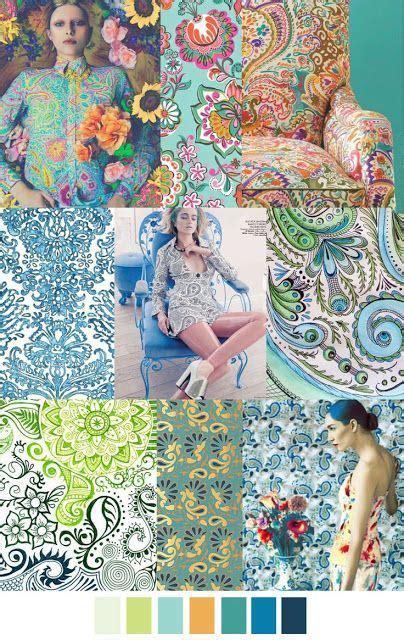 paisley  floral love women fashion trends