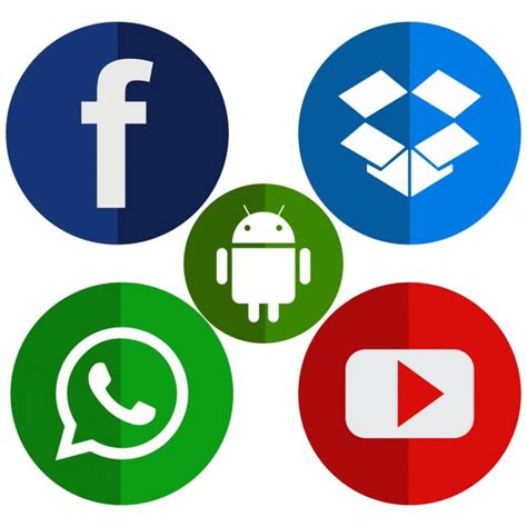 Free Apps For Mobile by Mobile App Icons Vector Free