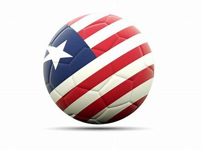 Liberia Flag Football Liberian Graphic Graphics Icon