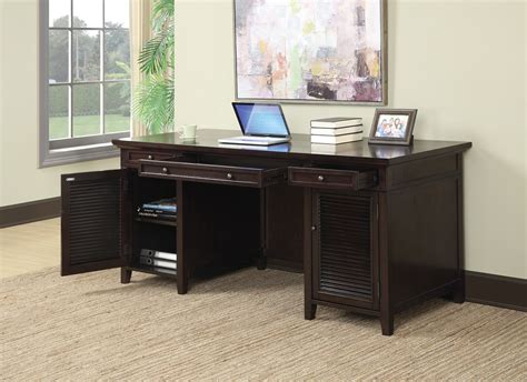 brown desk with drawers dark brown 3 drawer desk from coaster 801097 coleman