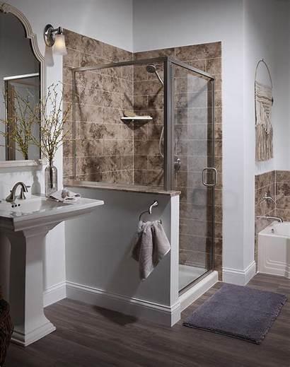 Shower Bathroom Showers Bath Tub Enclosures Conversion