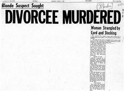 Ellroy Murder Geneva Jean Crime Scene Insidesocal