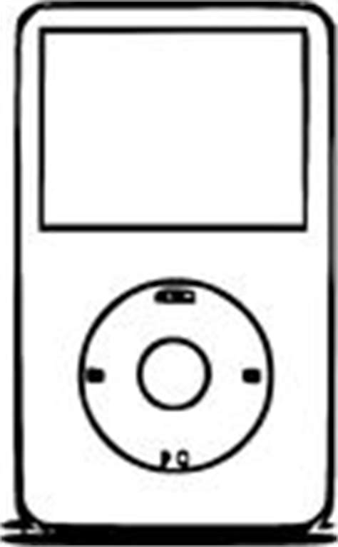 touch clipart black and white ipod black and white clipart clipart suggest