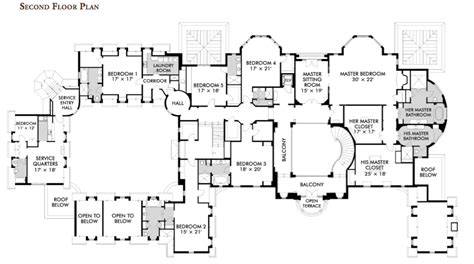 luxury estate home plans floorplans homes of the rich