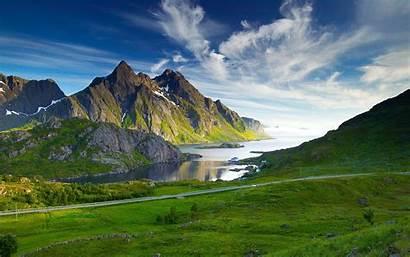 Pemandangan Gambar Indah Keren Laptop Windows Nordic