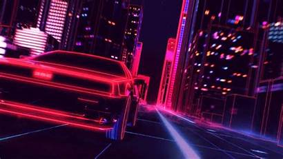 Wallpapers Retro 80s Vegas Las Background Hold
