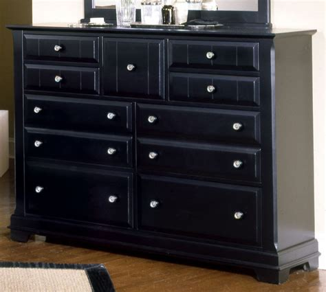 black dresser drawer vaughan basset cottage collection 9 drawer dresser