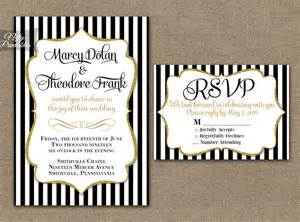 Pink And Gold Bridal Shower Invitations Image