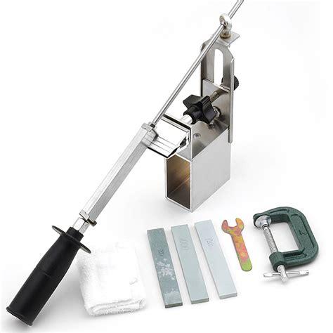 best whetstone for kitchen newest kme sharpener portable rotation chef knife