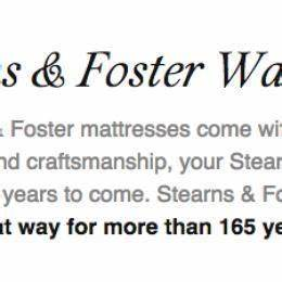 stearns fostercaldera hybrid pl mattress sterns and With what kind of paint to use on kitchen cabinets for faith hope love wall art