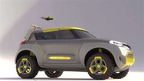 Renault Concept Car Launches Drone To Check For Gridlock