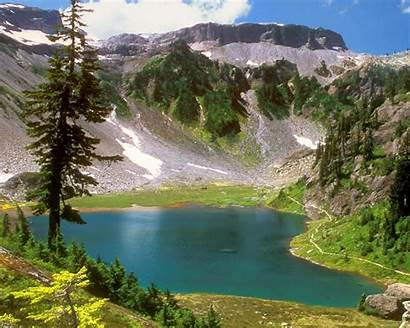 Desktop Nature Landscapes Water Mountains Trees Landscape