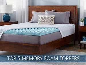 our 5 highest rated memory foam mattress topper reviews With best selling mattress topper