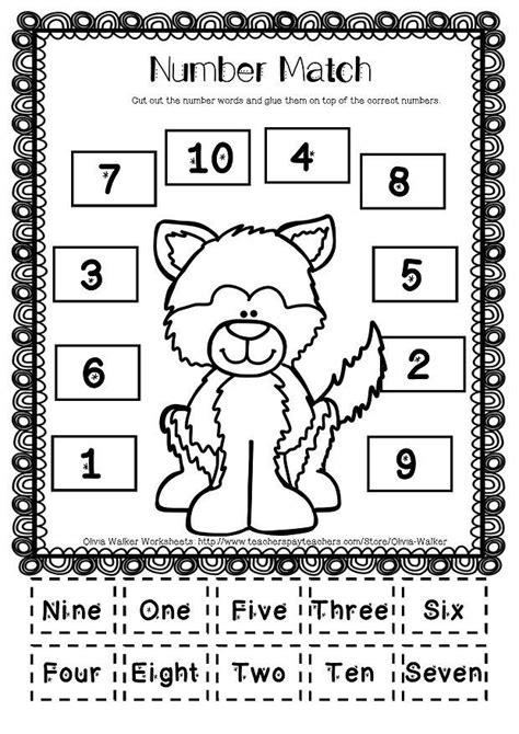 best 25 number words ideas on pinterest kindergarten preschool number activities and