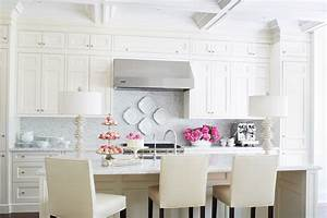 creating the perfect kitchen backsplash with mosaic tiles With the perfect kitchens with white cabinets for you