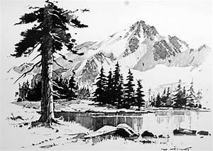 Best 25  Landscape Sketch Ideas On Pinterest