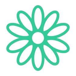 Daisy Flower SVG Monogram