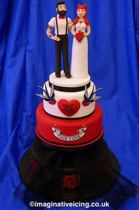 beard tattoos wedding cake imaginative icing cakes