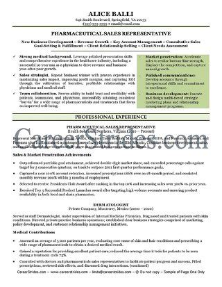 sales resume writer written by a nationally certified