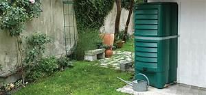 Tonne A Eau Plastique : relier deux cuves r cup rant l 39 eau de pluie ~ Dailycaller-alerts.com Idées de Décoration