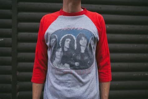 Vintage 1981 Journey Escape Tour T Shirt Small