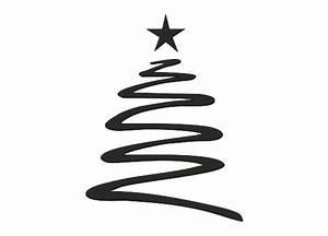 Tannenbaum Schwarz Weiß : wandtattoo weihnachten tannenbaum mit stern ~ Orissabook.com Haus und Dekorationen