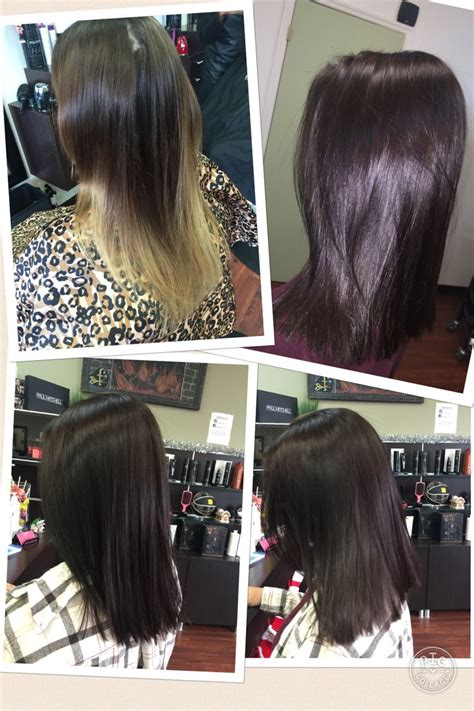 chocolate brown paul mitchell  color xg  rb wb