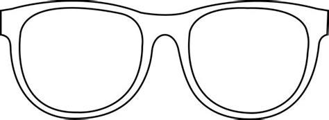 Sunglasses Coloring Sheets