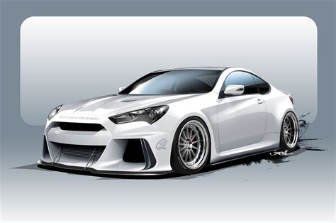 Ark Performance Building Hyundai Genesis Coupe For Sema