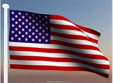 Waving American Flag – GIF Animations