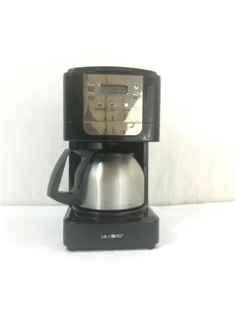 """Coffee espresso maker is one of the most suitable, easy to use and simple coffee maker machines one can find anywhere in the world. """"Mr. Coffee JWX9 5-Cup Programmable Coffeemaker, Black with Stainless Steel Carafe"""" for sale ..."""