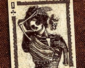 Day of the Dead Calaveras Playing Cards