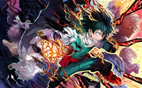 1265 My Hero Academia Hd Wallpapers  Background Images