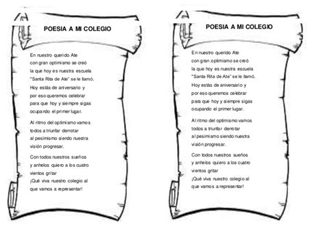 poesia a mi colegio
