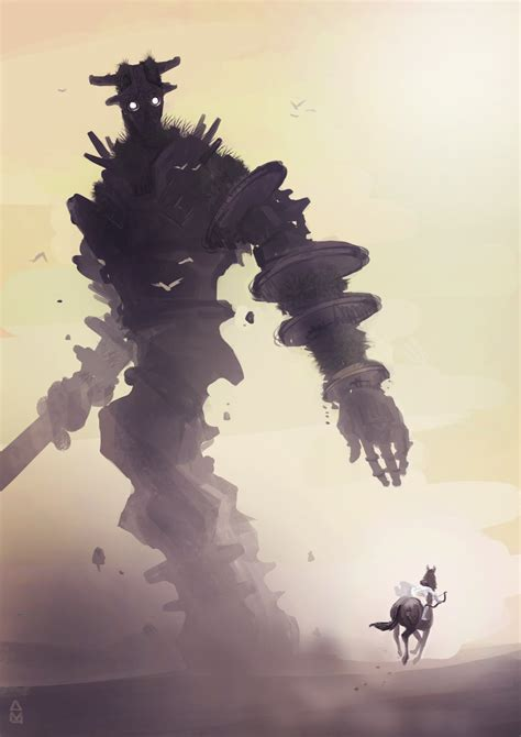 Shadow Of The Colossus By Aaydo On Deviantart