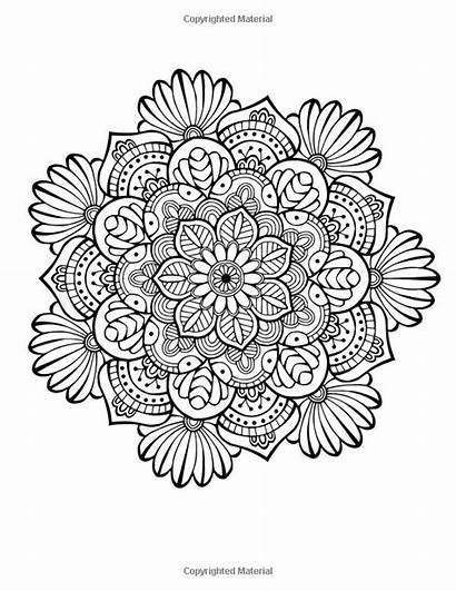 Coloring Mandala Stress Relief Adults Colouring Mandalas