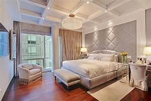 10 Beautiful Bedrooms with Crystal Chandeliers - Housely