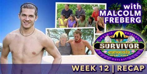 Malcolm Freberg Recaps Survivor Cambodia Episode 12 ...