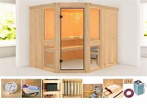 Sauna Online Kaufen : konifera sauna angelina 2 online kaufen otto ~ Indierocktalk.com Haus und Dekorationen