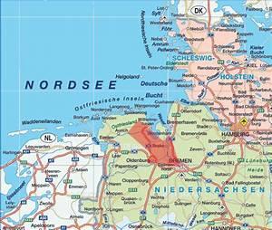 Bild Bremen De : deutschlandkarte blog bremen karte regionen bild ~ Pilothousefishingboats.com Haus und Dekorationen