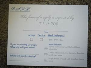 my beautiful nearly foolproof rsvp cards With the wedding invitation online latino