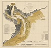 Old Travel Map - Charleston Harbor - Ricketts 1864 - 23 x ...
