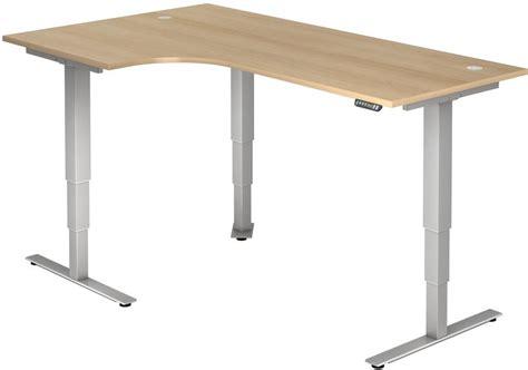 bureau r lable en hauteur ectrique bureau réglable en hauteur électrique tarys ergo 2 forme